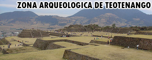 Zona Arqueológica de Teotenango, Estado de México